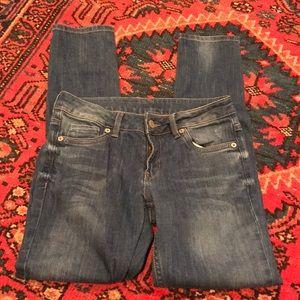 Top Shop Skinny Moto Jeans